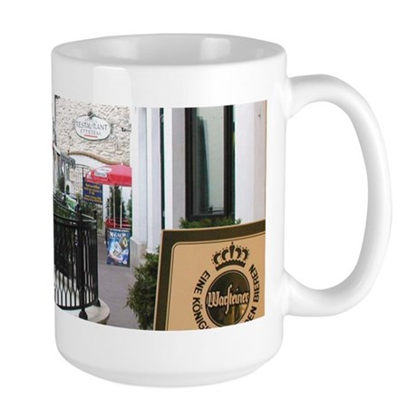 Hungarian Coffee Shop Large Mug