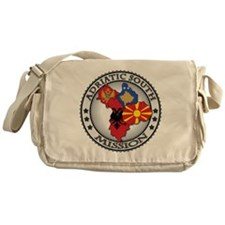Adriatic South LDS Mission Flag Cuto Messenger Bag