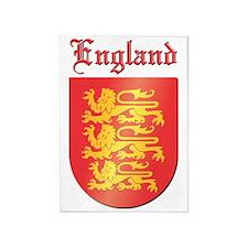 England COA 5'x7'Area Rug