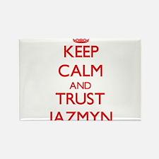 Keep Calm and TRUST Jazmyn Magnets