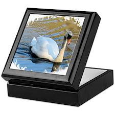 Swan4 Keepsake Box