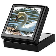 Swan1 Keepsake Box