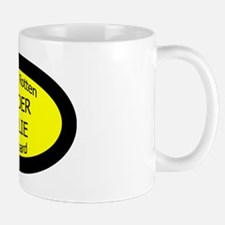 BorderCollieSpoiledRottenOnBoard Mug