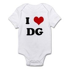I Love DG Infant Bodysuit