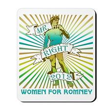 Women For Romney Mousepad