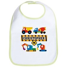 Customized Construction Vehicles Bib