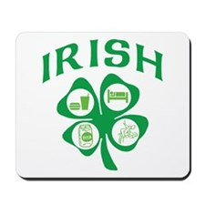 Naughty Irish Mousepad