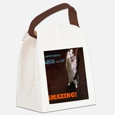 Albus the Cat Canvas Lunch Bag