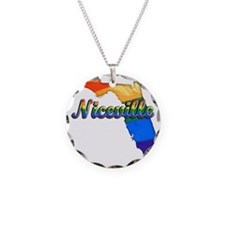 Niceville Necklace Circle Charm