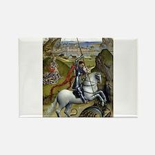 Saint George and the Dragon - Rogier van der Weyde