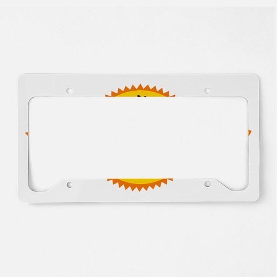 Cabo San Lucas Sun License Plate Holder