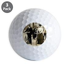 Cyclists  Golf Ball