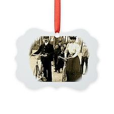 Cyclists  Ornament