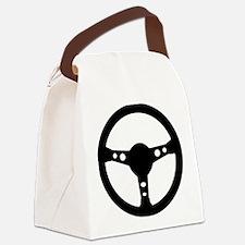 steering_wheel_racing Canvas Lunch Bag