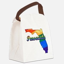 Pensacola Canvas Lunch Bag