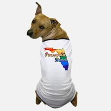 Pensacola Beach Dog T-Shirt