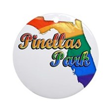 Pinellas Park Round Ornament