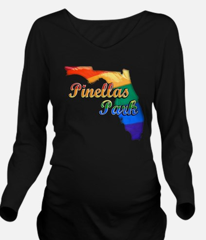 Pinellas Park Long Sleeve Maternity T-Shirt