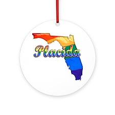 Placida Round Ornament