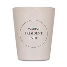 obama1 Shot Glass