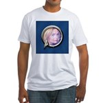 Personalizable Star Trek Science Fr Fitted T-Shirt