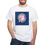 Personalizable Star Trek Science Fra White T-Shirt