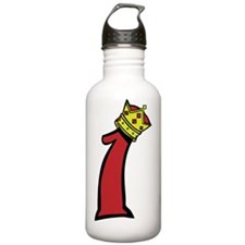 1-IAM-Logo-Color Water Bottle