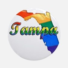 Tampa Round Ornament
