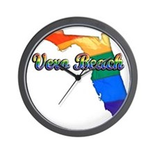 Vero Beach Wall Clock