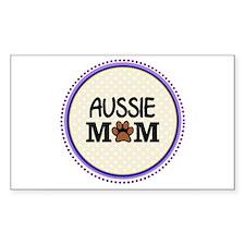 Aussie Dog Mom Decal