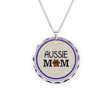 Aussie Dog Mom Necklace