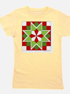 Quilt Design V-145 square Girl's Tee