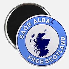 Saor Alba Free Scotland Magnet