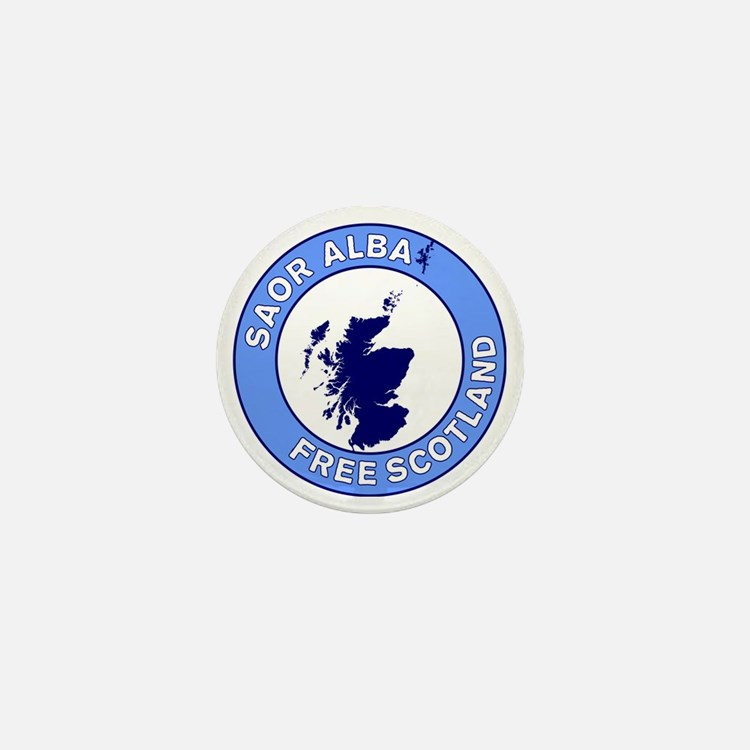 Saor Alba Free Scotland Mini Button