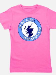 Saor Alba Free Scotland Girl's Tee