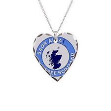Saor Alba Free Scotland Necklace