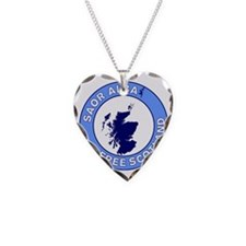 Saor Alba Free Scotland Necklace Heart Charm