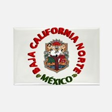 Baja California Rectangle Magnet (100 pack)