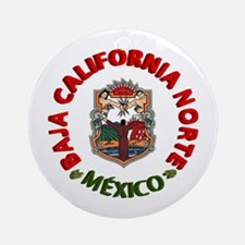 Baja California Ornament (Round)