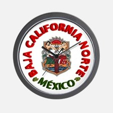Baja California Wall Clock