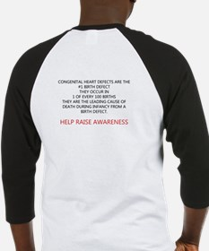 One in One Hundred CHD Awareness Baseball Jersey