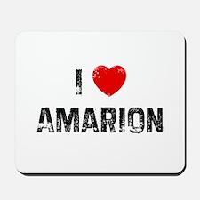 I * Amarion Mousepad