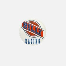 Billy Racing Logo Mini Button