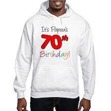 Papous 70th Birthday Jumper Hoodie