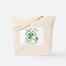 Rub Me For Luck Tote Bag