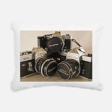 pngtrioface Rectangular Canvas Pillow