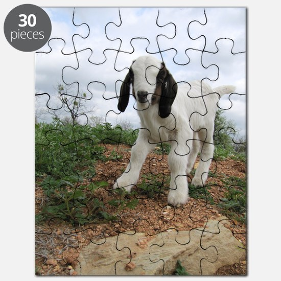 Kid Goat On Hill Puzzle