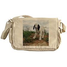 Kid Goat On Hill Messenger Bag