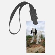 Kid Goat On Hill Luggage Tag