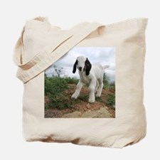 Kid Goat On Hill Tote Bag